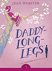 Puffin classics edition of Daddy-Long-Legs - girl writing letters in a tree