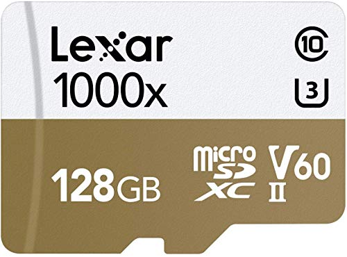 Lexar Professional 1000x 128GB microSDXC UHS-II Card