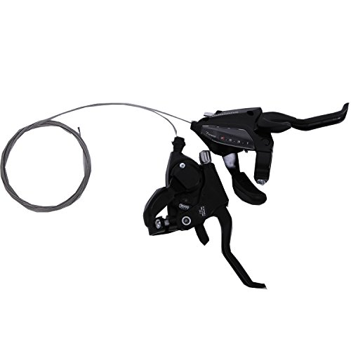Shimano ST-EF500 3 x 7 Speed Bike Shift/Brake Lever Set by Shimano