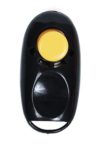 Button Clicker - Clickertraining für Hunde, Katzen und Pferde (schwarz)