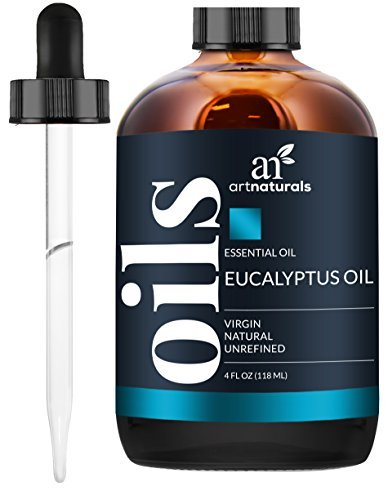 ArtNaturals 100% Pure Eucalyptus Essential Oil - (4.0 Fl Oz / 118ml) - Therapeutic Grade Natural Oils