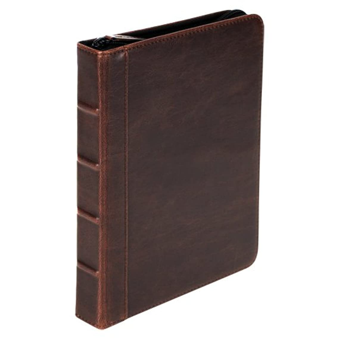 Samsill Vintage Hardback Universal  7 Inch - 8 Inch Tablet Cases for iPad Mini and Android Tablets - Brown (35024)
