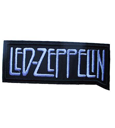 Hotrodspirit – Parche Grupo LED Zeppelin Logo Negro