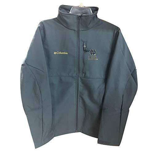 Columbia Notre Dame Ascender Softshell Jacket, Grill, Medium
