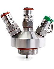 2.5/5 bar PRV Mini Keg Ball Lock Tapping Head Growler Dispensing voor 2L, 3,6L, 4L, 5L, 10L