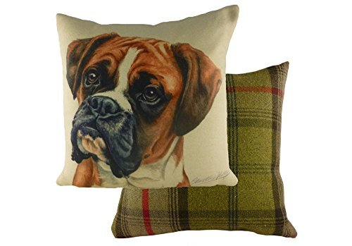Waggy Dogz 17 Cushion Boxer Dog by Evans Lichfield by Unknown