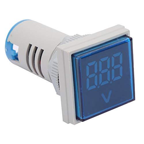 Indicador de probador de voltaje, indicador de voltaje cuadrado de fácil lectura...