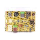 Schleifset für Elektriker Schleifmaschinen, Set für elektrische Schleifmaschine, Schleifbohrersatz für Hobby - 105Pcs