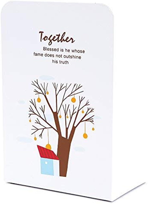 Bücherregal The Metal Metal Metal Frame Thick Book Buchstützen Bookend Student Book Baumhaus B für ein Geschenk (Farbe   Treehouse B) B07PTZ777J | Erste Kunden Eine Vollständige Palette Von Spezifikationen  b45f2b