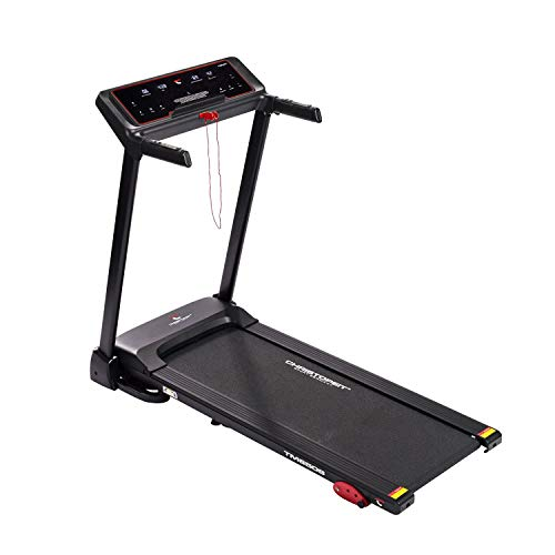 Laufen Elektrisches Laufband TM 650 S schwarz Fitness von Christopeit Sport