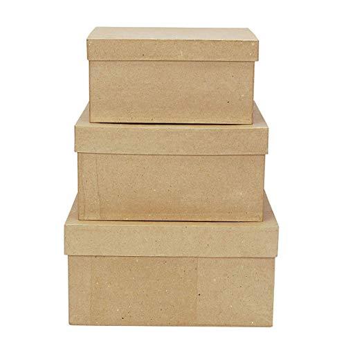 of darice box sets Darice 2849-06 garden, 3 Box Set, cardboard box
