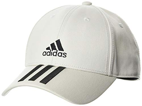 adidas Hat Bball 3S Cap CT, Orbit Grey/Black/Black, OSFM, FK0896