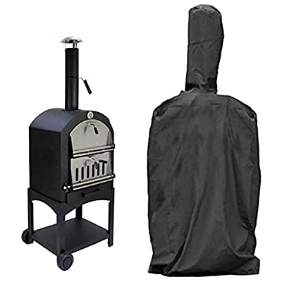 SOKEY Outdoor Heavy Duty Pizza Oven Cover, Camping Cooking Protective Cover Waterproof Weather Resistant Dust-Proof Grill Oven Cover by SOKEY