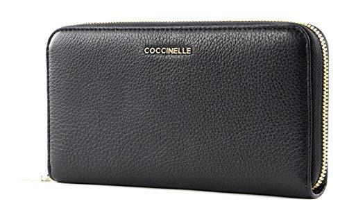 Coccinelle Metallic Soft Geldbörse Leder 19 cm