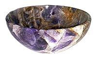 IFH Yellow Citrine Reiki Bowl Hand Carved Crystal Spiritual Healing Energy Gemstone
