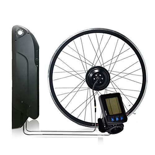 CARACHOME ebike kit mit akku, 12,8AH 36V 350W Wasserdichtes e Bike nachrüstsatz für MTB und Rennrad,LCD m3s,700C