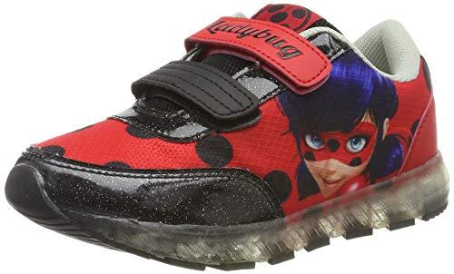 Cerdá Deportiva Luces Lady Bug, Zapatillas para Niñas, Rojo (Rojo C06), 31 EU