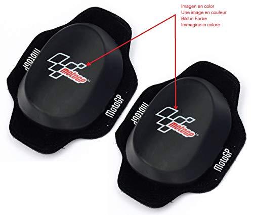 Deslizadera de rodilla para motoristas, rodillera deslizantes carretera circuito competicion slider con logo