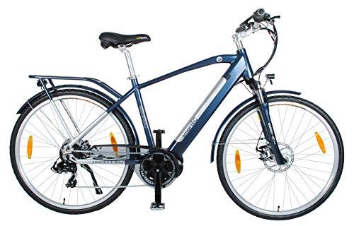 41hXzevx6OL - smartEC TrekX-MH Trekking Pedelec Elektrofahrrad E-Bike 28 Zoll mit Samsung Li-Ion-Akku 14AH, Mittelmotor, Rahmen-Akku, Fahrunterstützung bis 25 km/h, 7 Gänge