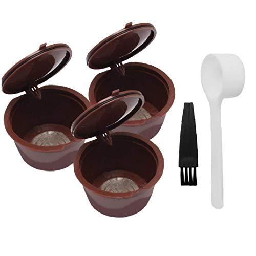 tJexePYK Reutilizable cápsulas de café de Filtro Copa Recargable cápsulas de café...