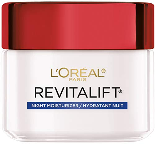 Price comparison product image Night Cream By L'Oreal Paris Skin Care,  Revitalift Anti-Wrinkle & Firming Night Cream Face Moisturizer With Pro-retinol,  Paraben Free,  2.5 Oz