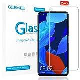 GEEMEE für Huawei Nova 5T/Huawei Honor 20 Pro/Huawei Honor 20 Panzerglas Schutzfolie, 9H Filmhärte Gehärtetem Schutzglas, Hohe Empfindlichkeit Panzerglas Bildschirmschutzfolie (Transparent)