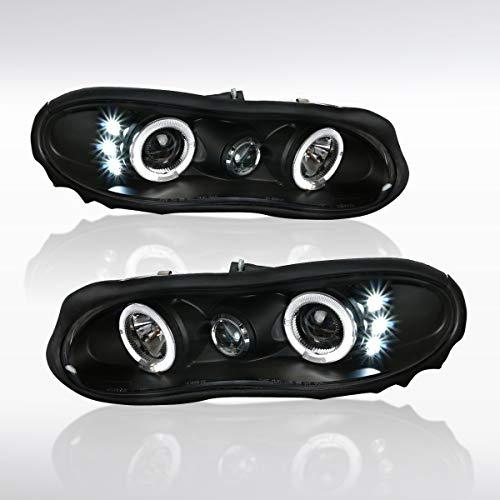 02 camaro headlights halo - 2