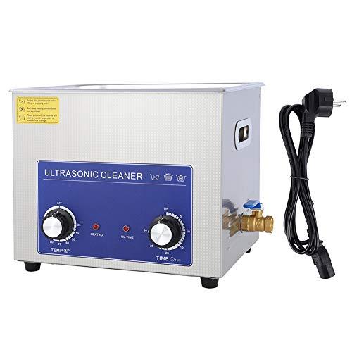 EBTOOLS Limpiador Ultrasónico, Máquina de Limpieza por Ultrasonidos para Anteojos, Telescopios, Jade, Joyas, Relojes(10L)