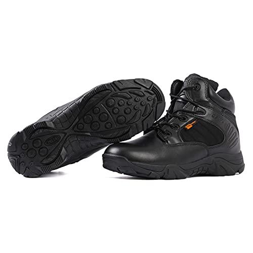 ZED- Botas Tácticas Militares de Hombre Ultraligero, Botas Jungle Combat, Zapatos de Trabajo y Seguridad