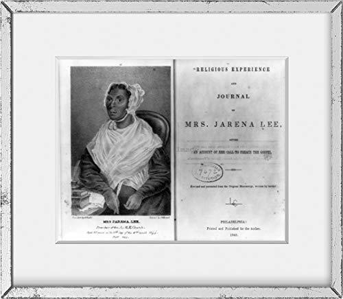 Foto: señora Jarena Lee, experiencia religiosa, diario, predicar, 1849