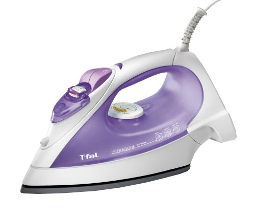 T-fal FV3266003 Ultraglide Diffusion Iron with Auto-Off and Vertical Steam, Lilac