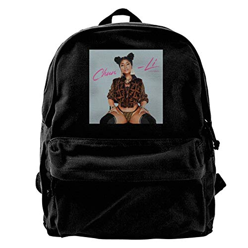 Guwafa8 Nicki Minaj Backpack Canvas School Bag Canvas All-Purpose Adjustable Shoulder Travel High Capacity