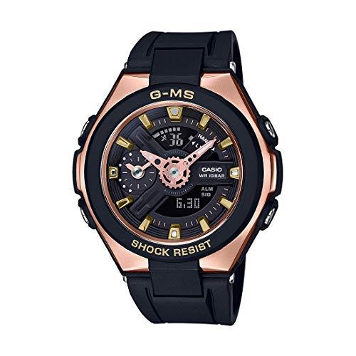 MSG-400G-1A1 Casio G-Shock Señoras Analógico-Digital Negro Casual Cuarzo Casio
