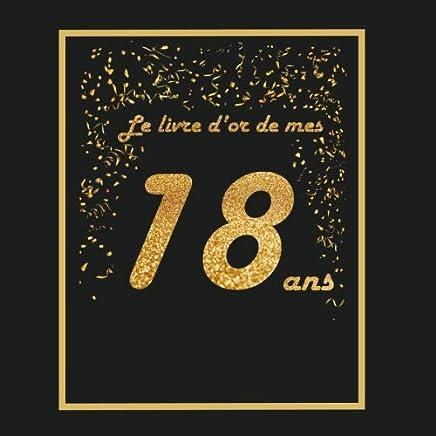 Amazon.fr : livre d'or 18 ans