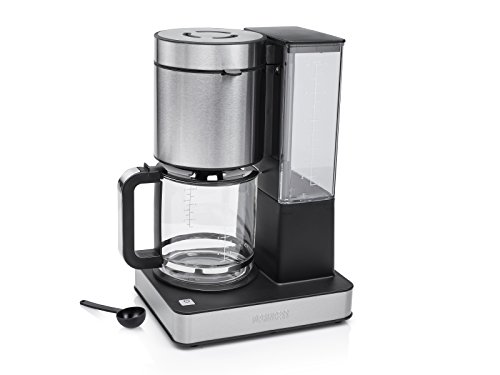 Princess 246002 Cafetera Superior, 1000 W, 14 cups, Acero inoxidable, Gris