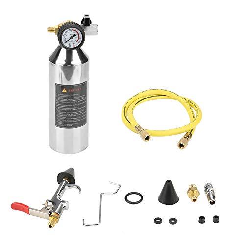 Flush Canister Gun Aria condizionata Flacone per pulizia tubi 1L Sistema condizionatore d'aria Kit Flush Canister Gun per sistema r12 r134a r404 r22 a/c