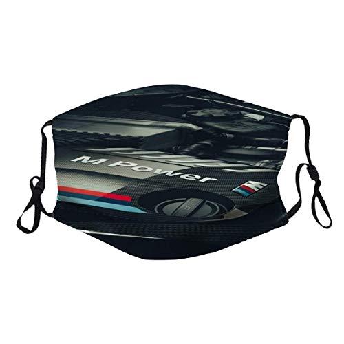 maichengxuan B-M-W M Sportwagen Serie Power Logo (14) Sturmhaube Halsmanschette Gesichtsschutz wiederverwendbarer Filter Bandana