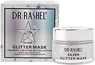 DR RASHEL Sparkling Glitter Face Mask for Moisturizing and Firming - Silver