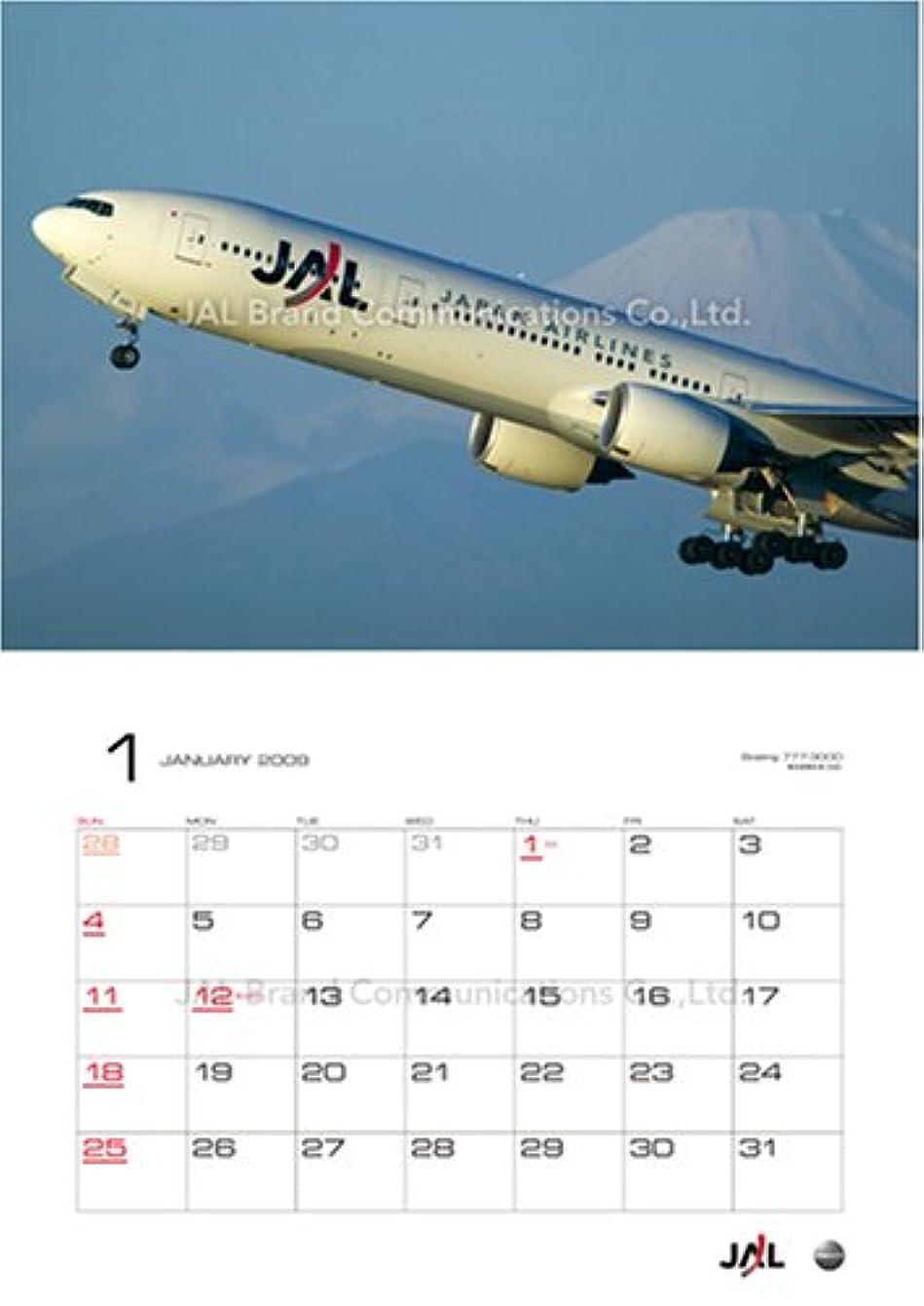 予備音声学教育するJAL「FLEET」(普通判) 2009年 カレンダー