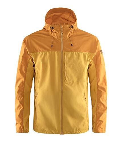 FJALLRAVEN Abisko Midsummer Jacket M Herrenjacke S ocker-goldgelb