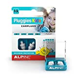 Alpine Pluggies Kids Ear Plugs – Noise Cancelling Ear Buds for...