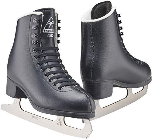 Jackson Ultima Black Figure Ice Skates for Boys/Size: Junior 3