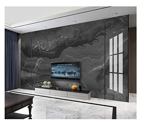 Wanghan Papel Tapiz 3D Papel Tapiz Personalizado Europa Y América Mármol Abstracto Tinta Negra Arte Tv…