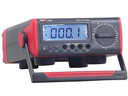 UNI-T ut802AC/DC Powered 20000counts Manual Range multímetro digital de tipo 200ohm