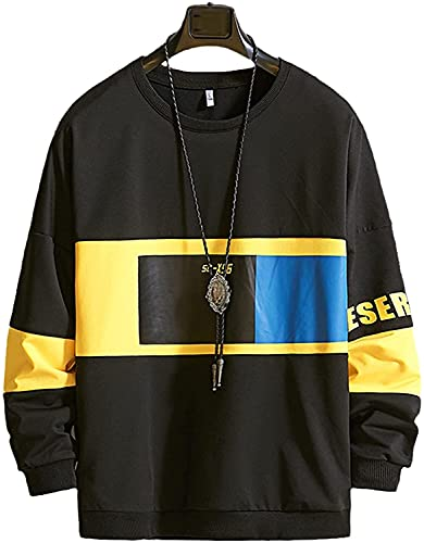 ONETOTOP Sudadera con Capucha Hip-Hop Street SuéTer De Mang Sudadera Hombres Color sólido Streetwear Hoodies Men Hip Hop Black Sudadera con Capucha de Gran tamaño Hombres Sudadera Sudadera