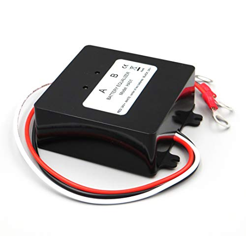 WNJ-TOOL, 1pc Solarbatterie-Equalizer 2x12v for Blei-Säure-Gel-Batterie Balancer HA02 Stable Batterie Sonnensystem