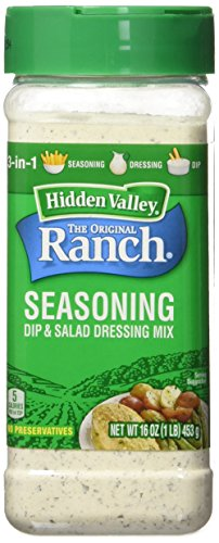 Hidden Valley Original Ranch Seasoning and Salad Dressing Mix, 16 Ounce