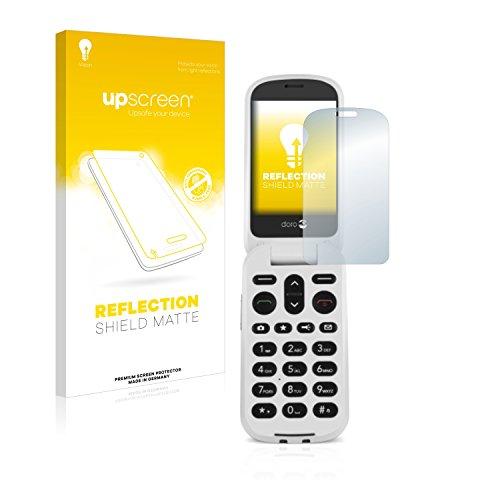 upscreen Entspiegelungs-Schutzfolie kompatibel mit Doro 6050 – Anti-Reflex Bildschirmschutz-Folie Matt