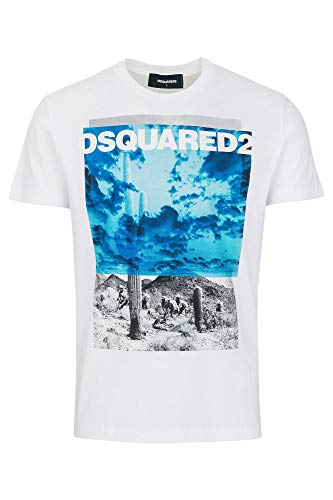 Dsquared2 t-shirt heren wit