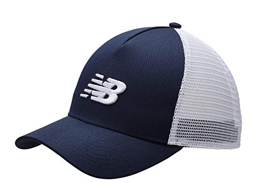 New Balance Men's and Women's Essential Trucker Mesh Baseball Hat, Mesh Snapback Cap